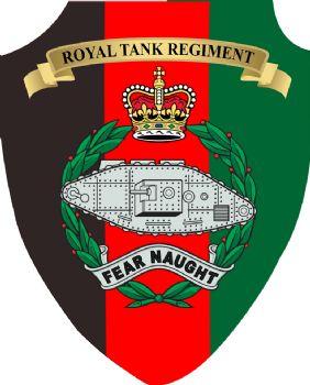 Royal Tank Regiment Plaque